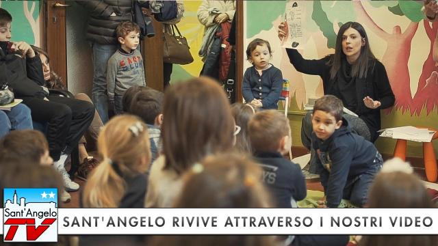Sant'Angelo Rivive attraverso i nostri Video: Lettura e Laboratorio in Biblioteca