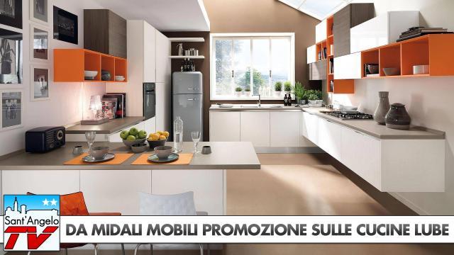 Da Midali Mobili Promozione sulle Cucine Lube | Sant\'Angelo TV